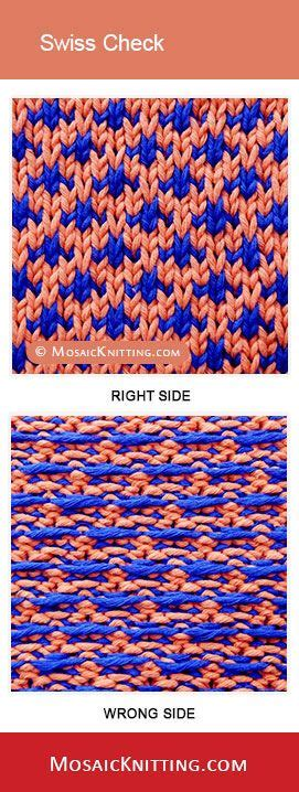 how to do mosaic knitting 104 best images about mosaic knitting on