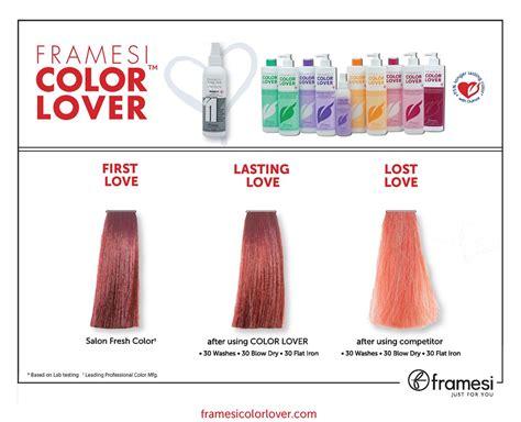 color lover framesi color lover swatchmock color charts