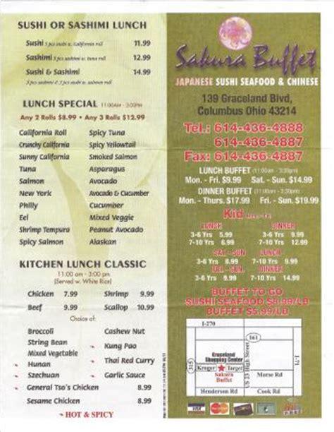 buffet columbus restaurant reviews phone number