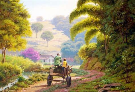 imagenes artisticas rurales pinturas cuadros lienzos pinturas al 211 leo paisajes