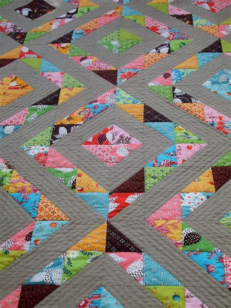 Quilting Half Square Triangles cabbage quilts the wonderful half square triangle quilt