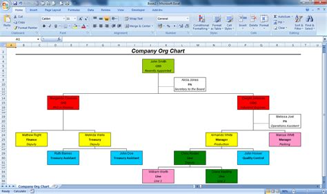 easy organizational chart maker officehelp macro 00051 organization chart maker for