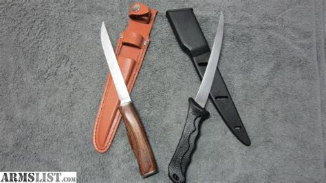sharp knives for sale armslist for sale vintage sharp fillet knife sheath