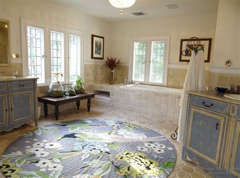 large round bathroom rugs beautiful floral round large bathroom rug all about rugs