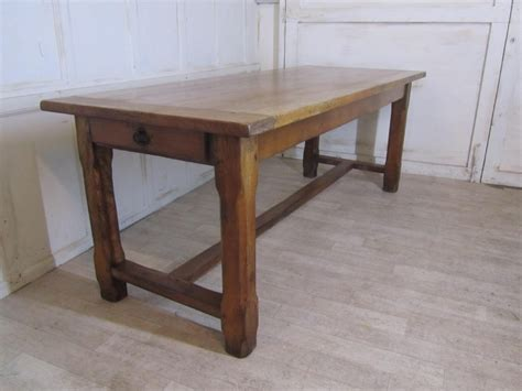 large oak dining table large farmhouse oak dining table from