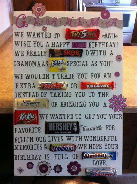 Bar Birthday Card Sayings Candy Bar Poster Ideas With Clever Sayings Candy Bar