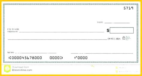 Large Check Gallery Create Your Own Big Template Oversized Free Click Ensite Info Award Check Template
