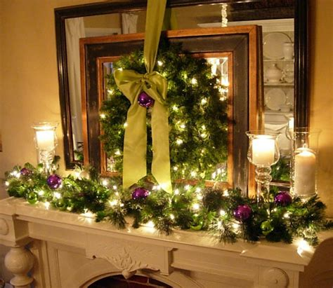 Decoration Cheminee Pour Noel by D 233 Co Chemin 233 E Pour Noel