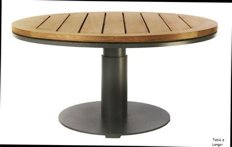 Table Jardin Ronde Pas Cher