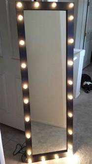 light up vanity mirror length lighted vanity mirror by kateyedesigns on etsy