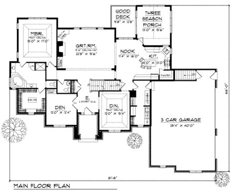 480 sq ft house plans traditional style house plan 3 beds 2 5 baths 3043 sq ft plan 70 480
