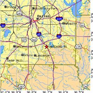 hutchins map hutchins tx population data races housing
