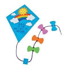 Inspirational kite door sign craft kit oriental trading