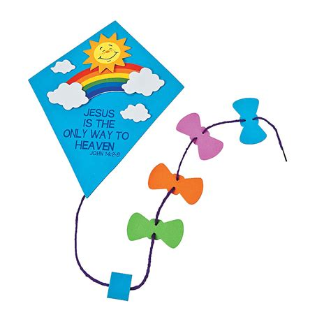 kite craft for preschool kite craft that flies clipart best