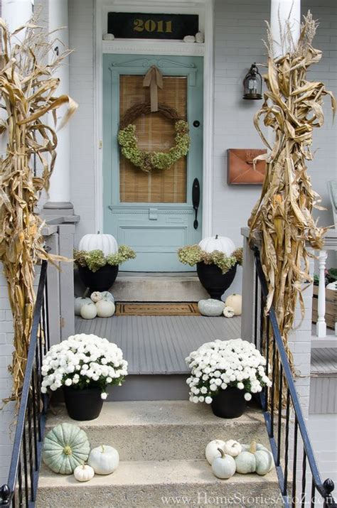 fall decorations for front porch pictures 120 fall porch decorating ideas shelterness