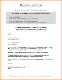 Employment Certification Letter For Visa 12 Employment Verification Letter Template For Visa Life Insurance Letter