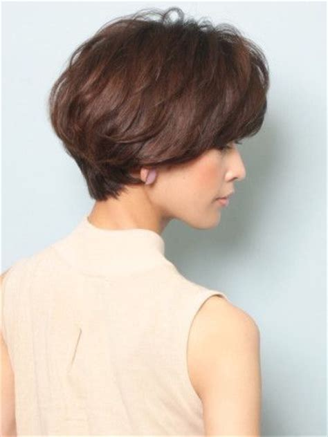 wedge with choppy layers hairstyle best 25 short wedge haircut ideas on pinterest wedge haircut choppy pixie cut and textured