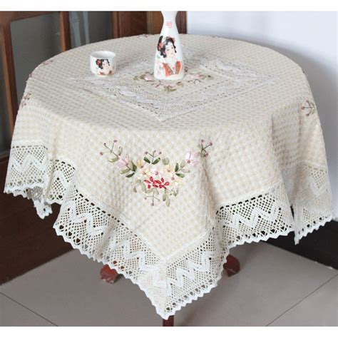 Handmade Table Cloth - aliexpress buy table cloth handmade ribbon