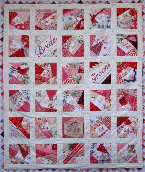 Bridal Quilt by Emily S Wedding Quilt Q Is For Quilter