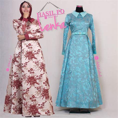 gamis pesta modern lenka dress made by order sa ma ra