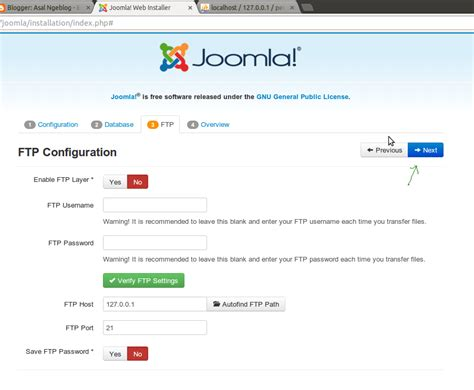 cara menginstall dan konfigurasi joomla tiyotc cara instal joomla pada localhost di linux ubuntu