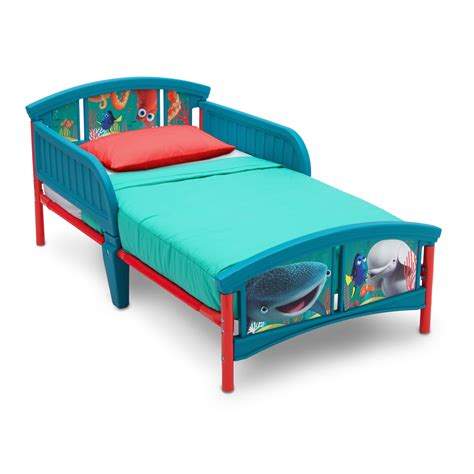 delta toddler bed delta children disney pixar finding dory toddler bed reviews wayfair