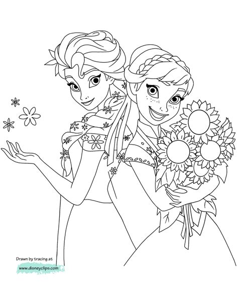 disney frozen printable coloring pages 2 disney coloring