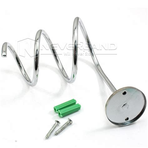 Hair Dryer Holder New Zealand salon quality chrome bathroom wall mounted hair dryer
