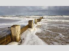Full HD Wallpaper breakwater storm beach charlestone usa ... Romantic Backgrounds Hd