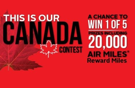 Air Miles Sweepstakes Winners - win free airmiles more from rexall