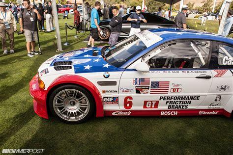 bmw m3 gtr road car e46 m3 gtr race and road car presented at pebble