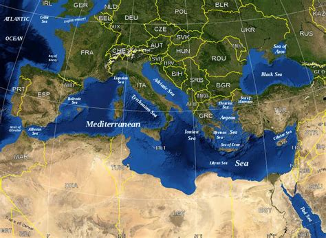 was the mediterranean sea the city your