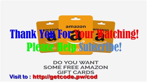 How Do I Get A Amazon Gift Card - how to get free amazon gift cards code free gift cards