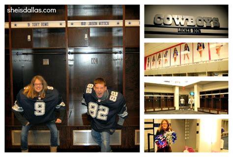 Dallas Locker Room by Cowboys Stadium Tour She Is Dallas