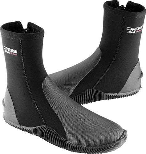 dive boots cressi wetsuits wetsuits boots with sole soft 3 5 7 mm