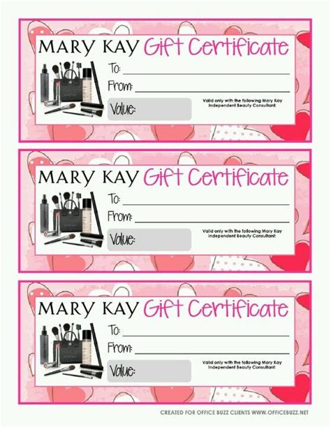 makeup gift certificate template not sure what to get then give them a gift