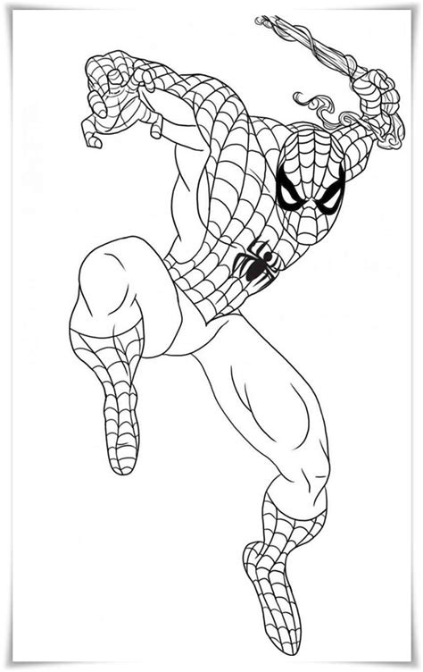 ausmalbilder zum ausdrucken spiderman ausmalbilder