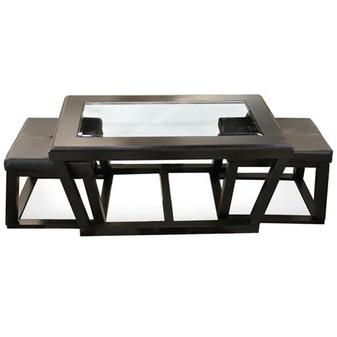Kelton Coffee Table With Stools by Kelton Cocktail Table With 2 Stools Furniture