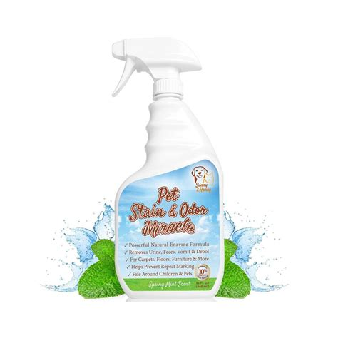 enzyme cleaner for urine set stain odor miracle enzyme cleaner for and cat urine