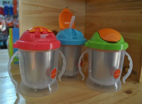 Innobaby Sippin Smart Ez Flow Stainless Sippy Green innobaby sippin smart ez flow stainless sippy asibayi