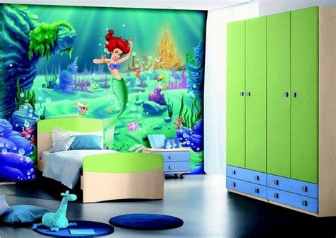 cuarto infantil ni a dormitorio infantil de ni 241 as tem 225 tica sirenas