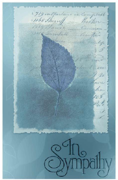 free printable greeting cards sympathy sympathy card with leaf