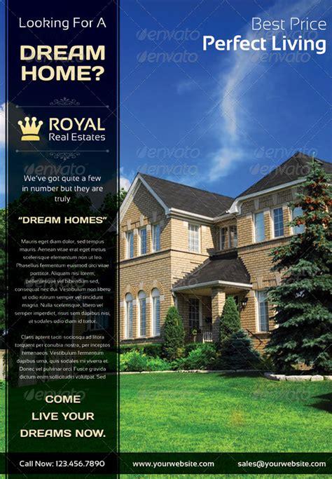 royal real estate marketing flyer by saptarang graphicriver