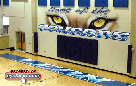 Wall To Wall Murals a great way to dominate your rival school is to enhance