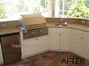 kitchen cabinets sarasota fl outdoor kitchens and outdoor cabinets before to after for sarasota venice and bradenton