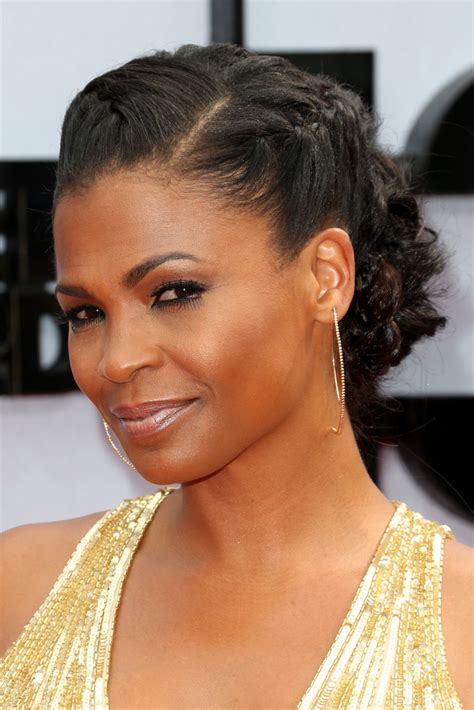 how to style hair like nia long nia long in arrivals at the bet awards zimbio