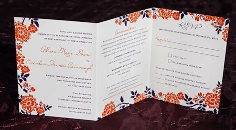 Wedding Invitations All In One by All In One Wedding Invitations Gangcraft Net
