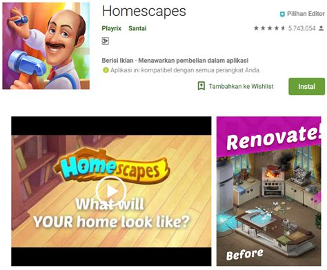 teknoreview homescapes     mod apk unlimited stars