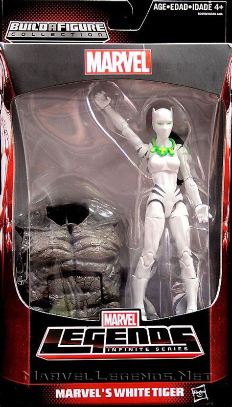 Marvel Legends Infinite Series Baf Rhino White Tiger marvellegends net marvel legends rhino series white tiger