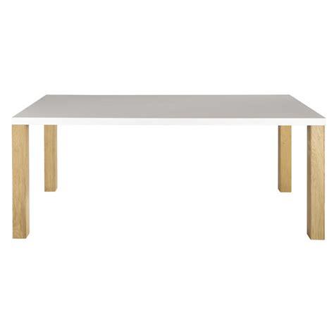 Charmant Table Salle A Manger Maison Du Monde #2: table-a-manger-blanche-8-10-personnes-l200-austral-1000-7-4-156050_1.jpg